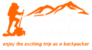 backpacker traveler logo